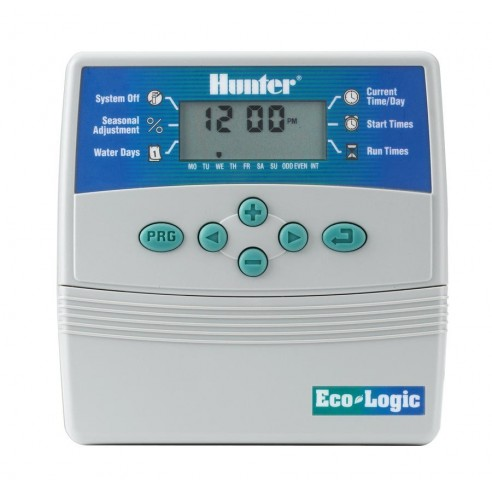 Programator HUNTER ELC 601 iE - Eco Logic 6 zone cu transformator - INTERIOR Hunter