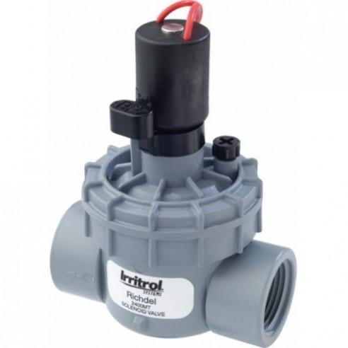 Electrovalva Richdel, 2400, 1'', FI/FI cu solenoid 9V Irritrol