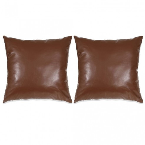 Set perne decorative 2 buc. Poliuretan 60x60 cm Maro