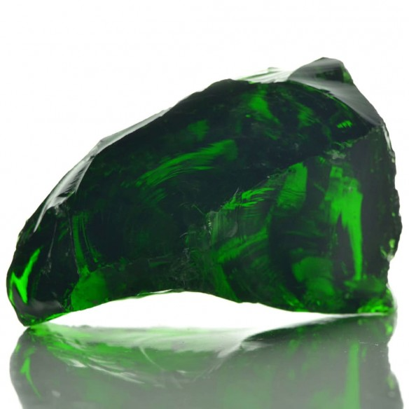Pietre gabion sticl? 60-120 mm 25 kg, Verde