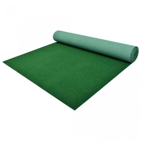 Gazon artificial cu crampoane, verde, 3 x 1 m, PP