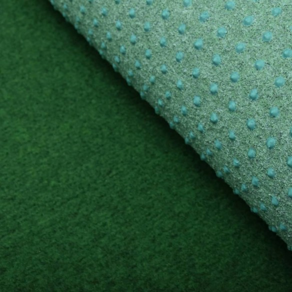 Gazon artificial cu crampoane, verde, 2x1,33 m, PP