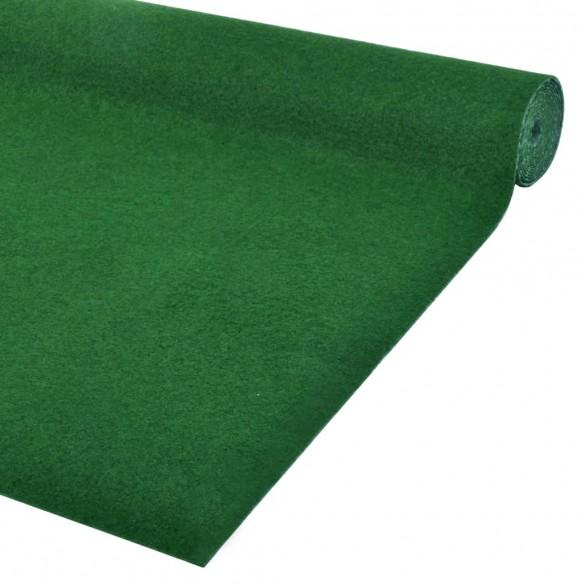 Gazon artificial cu crampoane, verde, 5 x 1 m, PP
