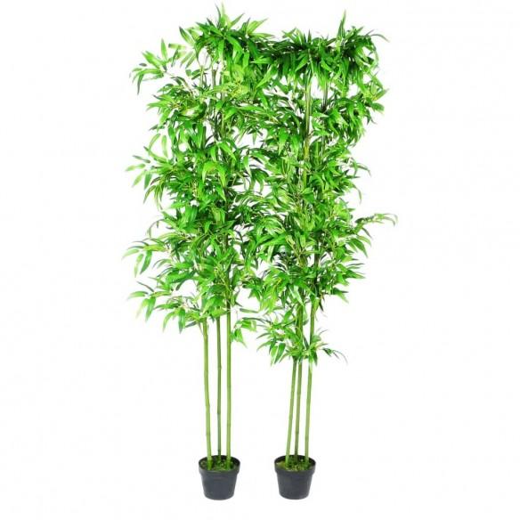 Set 6 decora?iuni plante bambus artificiale