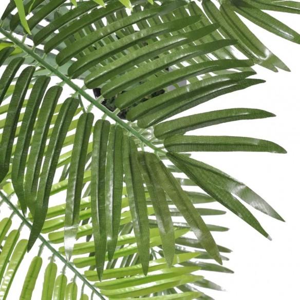 Palmier Phoenix artificial cu aspect natural ?i ghiveci, 130 cm