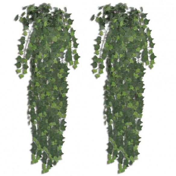 Ieder? verde artificial?, 2 tufe, 90 cm