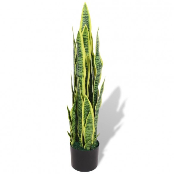 Plant? artificial? Limba-soacrei cu ghiveci, 90 cm, verde