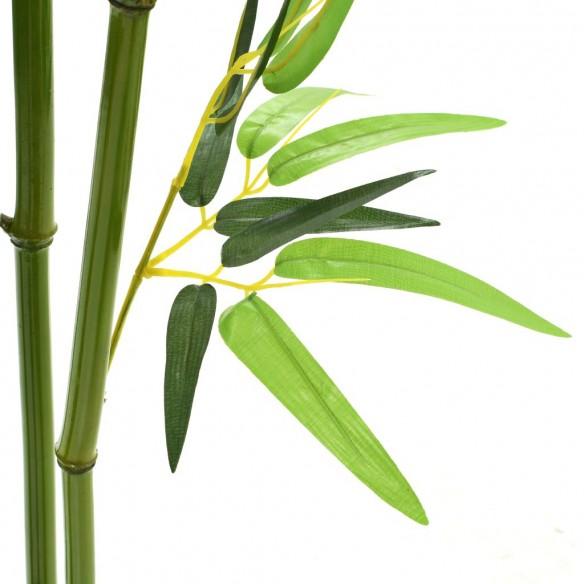 Plant? bambus artificial cu ghiveci 150 cm Verde