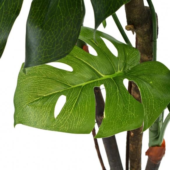 Plant? artificial? Monstera cu ghiveci, 130 cm, verde