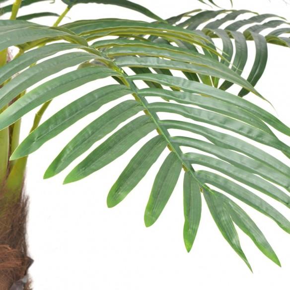 Palmier artificial cu ghiveci, 310 cm, verde