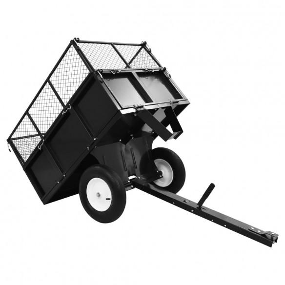 Remorc? basculant? tractor de tuns gazon, inc?rc?tur? 300 kg