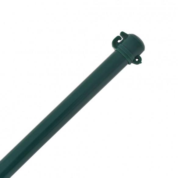??ru?i gr?din?, 10 buc, 1,5 m, metal, verde