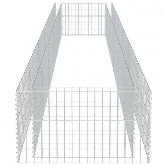 Strat in?l?at gabion, 540 x 90 x 50 cm, o?el galvanizat