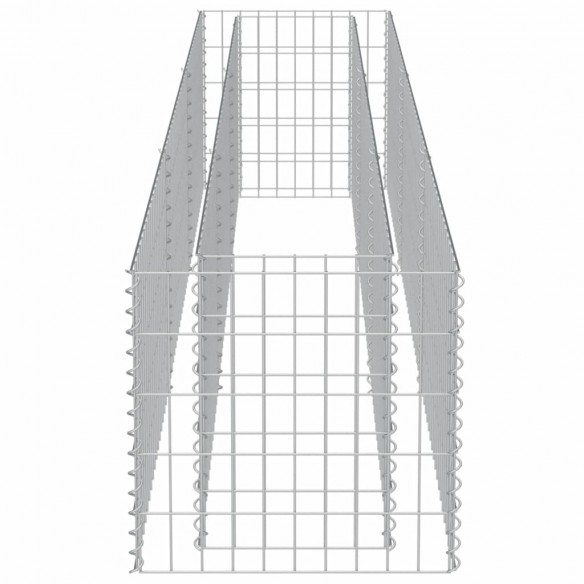 Strat in?l?at gabion, 270 x 50 x 50 cm, o?el galvanizat