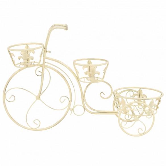 Suport de plante model biciclet?, stil vintage, metal
