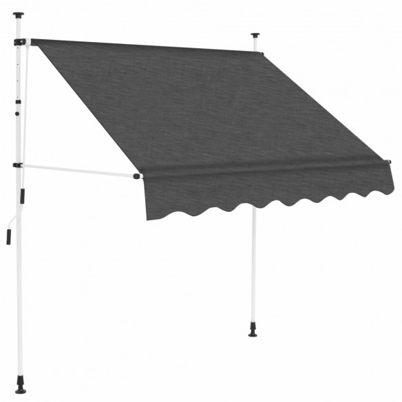 Copertin? retractabil? manual, antracit, 150 cm