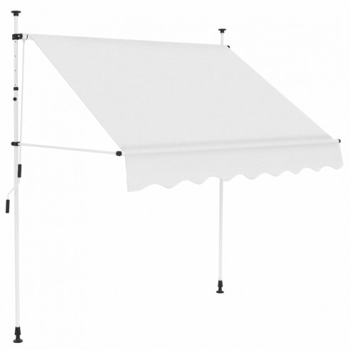 Copertin? retractabil? manual, crem, 200 cm