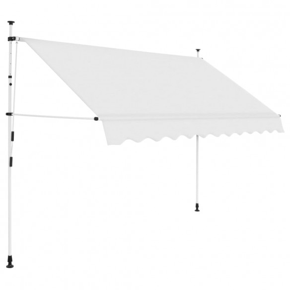 Copertin? retractabil? manual, crem, 300 cm
