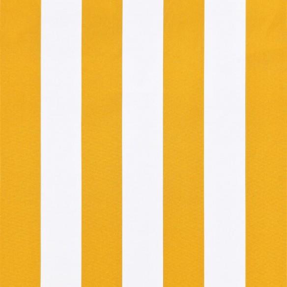 Copertin? de bistro, portocaliu ?i alb, 400 x 120 cm
