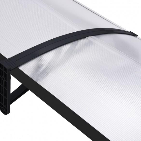 Copertin? de u??, negru ?i transparent, 240 x 80 cm, PC