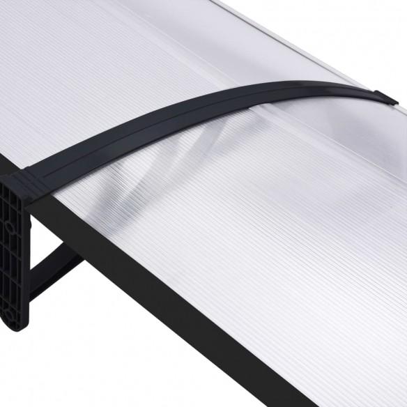 Copertin? de u??, negru ?i transparent, 300 x 80 cm, PC