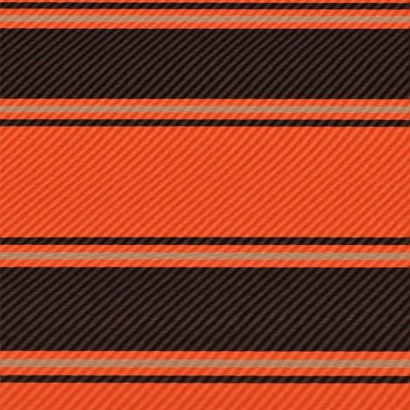 Copertin? retractabil? cu LED, portocaliu ?i maro, 350 x 150 cm
