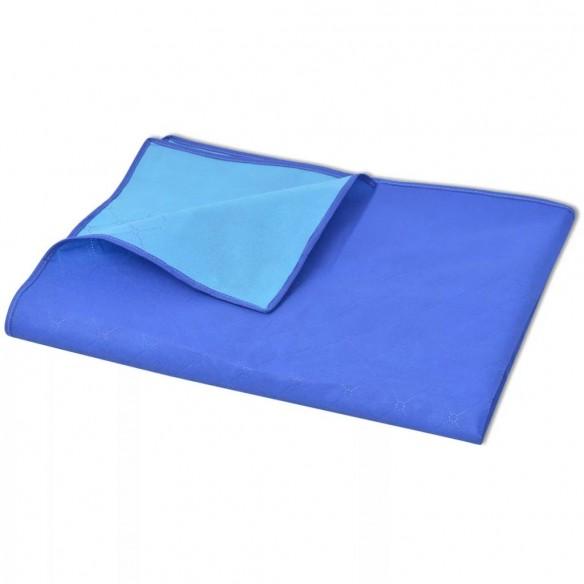 P?tur? pentru picnic, albastru ?i bleu, 100 x 150 cm