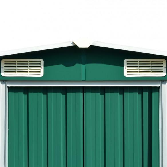 ?opron de gr?din?, 257 x 298 x 178 cm, metal, verde
