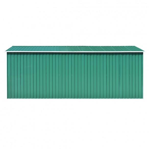 ?opron de gr?din?, 257 x 497 x 178 cm, metal, verde