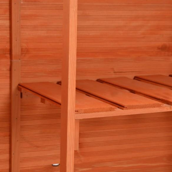 ?opron de gr?din?, 120 x 50 x 91 cm, lemn