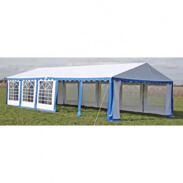 Cort de petrecere, albastru, 10 x 5 m