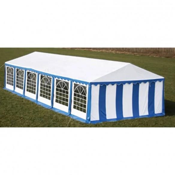 Cort de petrecere, albastru, 12 x 6 m