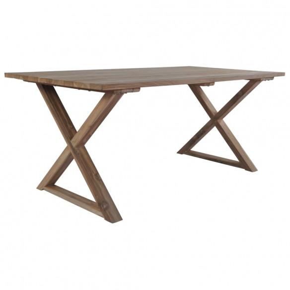 Mas? de gr?din?, 180 x 90 x 76 cm, lemn reciclat de tec