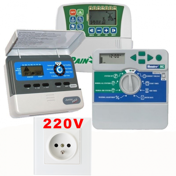 Programatoare 220V - controllere pentru sisteme de irigat