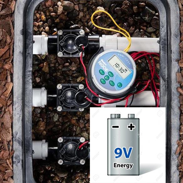 Programatoare 9V - alimentare cu baterie