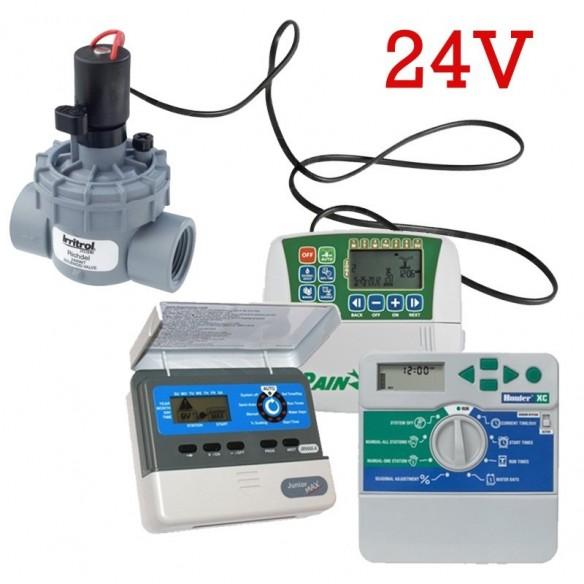 Electrovalve cu solenoid 24V