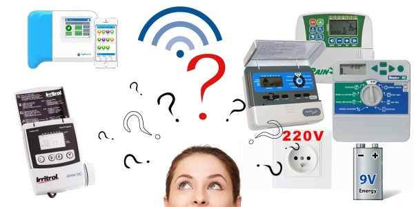 Comparatie programatoare 24V, cele pe baterie (9V) si WiFi